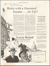 1942-Vintage ad for Acacia Mutual Life Insurance Co`Art (062215)