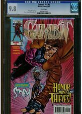 GAMBIT #2 CGC 9.8 MINT WHITE PAGES 1999 VOLUME 2 BLUE LABEL STORM APPEARANCE