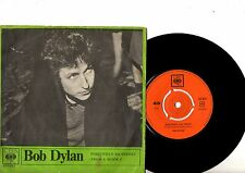 BOB DYLAN 7'' PS Positively 4th Street Denmark VERY RARE CBS 201 824 Danish 45