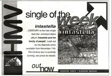 9/11/91 Pgn23 Advert: century New Single From Intastella In Hmv Stores 7x11