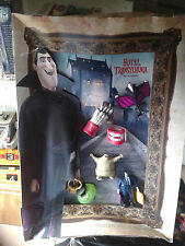 HOTEL TRANSYLVANIA MCDONALDS HAPPY MEAL DISPLAY W/ COMPLETE FIGURE SET MAVIS LOT