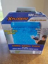 Boîte de 500 munitions de recharge pour xploders blasters pistolet extérieur jouet neuf scellé non ouvert