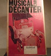 "Musical Car Decanter, Plays ""How Dry I Am"" (NEVER USED)"