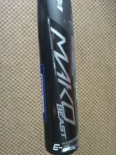 "2017 Easton Mako BB17MK BEAST MAKO BBCOR 33""/30 oz. Baseball Bat, BRAND NEW"