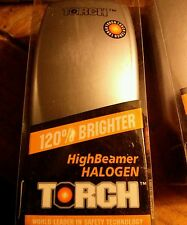 Halogen Bike Light by TORCH. 120% brighter. BNIB