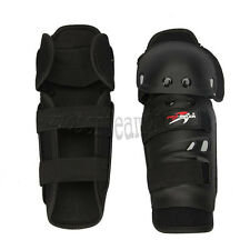 Black Brace Adult Racing Elbow Shin Knee Guards Protector Dirt Bike Motocross