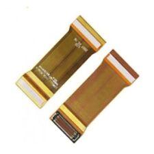 KIT 2X FLAT FLEX FLET per SAMSUNG SGH M600 DISPLAY BIANCO TASTI KO Nuovo RICAMBI