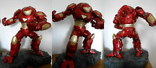 IRON MAN HULKBUSTER COMIQUETTE POLYSTONE STATUE - SIDESHOW MARVEL