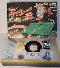 Las Vegas Vacation Black Jack Poker Slots Gambling Roulette Casino Board Game