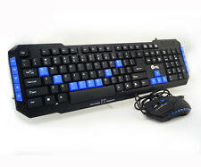 Jeway JK-8803 USB Wired 114-Key Gaming Keyboard + Wired USB Optical Mouse Combo