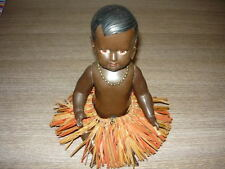 BAMBOLA CELLBA GERMANY NEGRETTA IN CELLULOIDE VINTAGE CELLBA DOLL