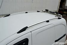 2010 - 2015 Volkswagen Caddy Maxi VW Polished Aluminium Roof Rails Rack Bars Van