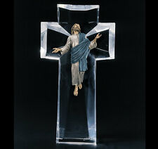 "Starlite Originals ""The Ascent"" Jesus Bronze Lucite Art Sculpture Statue"