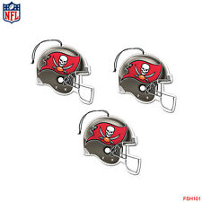 New NFL Tampa Bay Buccaneers Paper Hanging Air Freshener 3 pack New Car Scent