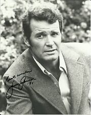 "1928-2014 JAMES GARNER (Jim Rockford), lovely 10"" x 8"" photo, ORIGINALLY SIGNED!"