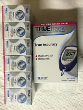TRUEtrack Blood Glucose (600) Test Strips FREE METER KIT Exp: 01/2019