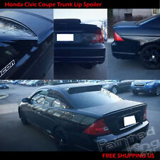 PAINTED FOR Honda Civic Coupe M3 Style Rear Trunk Lip Spoiler Wing 01 03 05