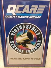 USED OEM QCARE VHS MERCRUISER EFI PART 4 TYING IT ALL TOGETHER 90-823732-59