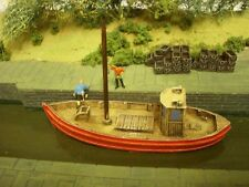 OO Model railway. Small fishing boat. Scottish MFV 1/72 scale