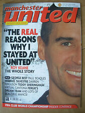 MANCHESTER UNITED OFFICIAL MAGAZINE ISSUE 86 FEBRUARY 2000
