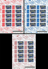 "Sheetlets Perso stamps ""Marianne Lamouche / First Airbus A380-800 MSN 003"" 2006"
