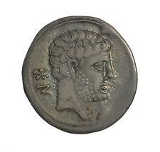 Hispania Spain Bolskan Osca 150-100 BC AR Drachm Ancient Greek Coin