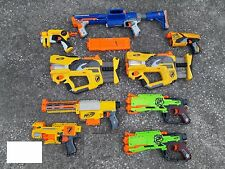 lot 9 Nerf gun painted altered Raider Recon Nite Finder Zombie Crossbow Firefly