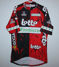 Vintage Lotto Mobistar Cycling Team jersey Sibille