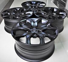 """22"""" 2016 SVR STYLE BLACK WHEELS RIMS FITS RANGE ROVER DISCOVERY 1266 MB"""