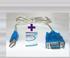 Adaptador cable usb serial rs-232 db9/USB tipo-a-serie rs232 9pin win7/8/10