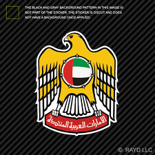 Emirati Emblem Sticker Decal Self Adhesive Vinyl United Arab Emirates flag ARE