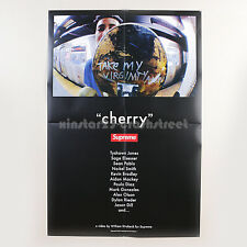 "Supreme SS14 ""Cherry"" DVD's Official Exclusive box logo Poster 27""x40"""