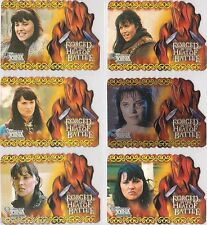 XENA QUOTABLE FORGED IN THE HEAT OF BATTLE INSERT SINGLE PICK ONE F2 F3 F4 F5