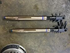 Suzuki GSXR1000 GSXR 1000 07 08 front suspension forks left right STRAIGHT