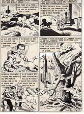 MUR DE LA LUMIERE PLANCHE DE MONTAGE AVENTURES FICTION ARTIMA  PAGE 4