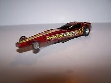 AURORA AFX VINTAGE ORIGINAL4 GEAR AZTEC DRAGSTER with NEW REPRO STICKERS