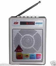 Set of 5 Pcs Sonilex SL SERIES FM Transistor/radio,USB/SD MP3 Player+Display