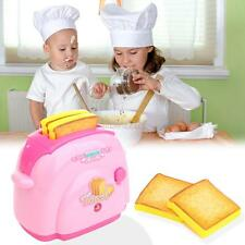 Mini Toaster Kids Children Simulation Pretend Play House Toys Kitchen Tool Gift