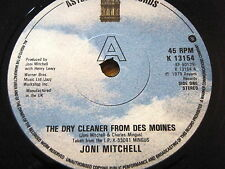 """JONI MITCHELL - THE DRY CLEANER FROM DES MOINES  7"""" VINYL"""