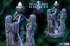 Backflow Incense Sculpture Triple Moon Goddess Dry Ice Effect Wicca Magick UK