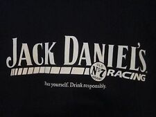 NWOT - JACK DANIEL'S RACING Black Adult L Short Sleeve Tee