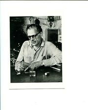 Arthur Miller Death of Salesman Author Playwright Original Postcard Photo