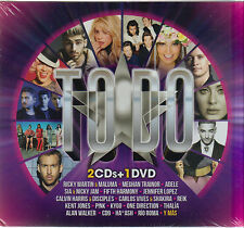 CD -  Todo 2 CD'S + DVD Various Artist (Ricky Martin and more)   FAST SHIPPING !