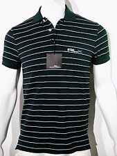 RLX by  Ralph Lauren Wimblemdon stripped pique polo men's shirt size xxl NEW on