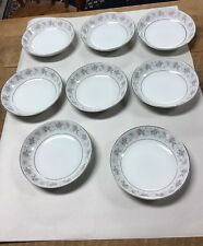 Vintage (8) Berry Bowls-Made In Japan~Bone China~corsage~3142
