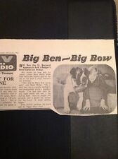 L1-8 Ephemera 1963 Picture Article Badger's Bend Mary Wylie Malcolm Patton