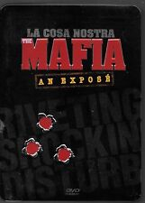 LA COSA NOSTRA, THE MAFIA, An Expose USED DVD SET, 5 Disc Documentary