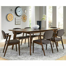 Coaster Malone Mid-Century Modern Wood Veneers and Solids Dining Side Chair with
