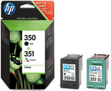 HP 350 351 COLOUR & BLACK Ink CartridgeS (SD412EE) D4200 C4440 C5275 J6400 D4360