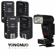 Yongnuo YN-622C Wireless E-TTL Flash Trigger 4PCS for Canon 5D Mark III 650D 7D